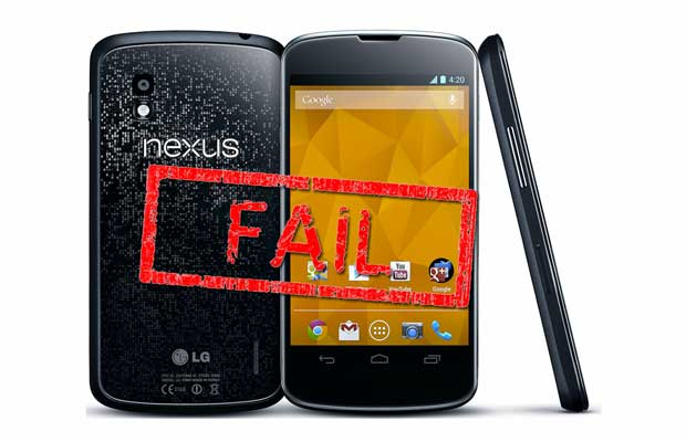 google fails to deliver nexus 4
