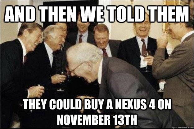 nexus 4 joke
