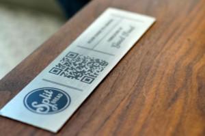split bread QR code payment