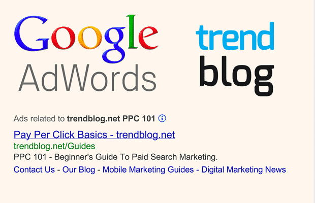 google adwords ppc 101 part 1