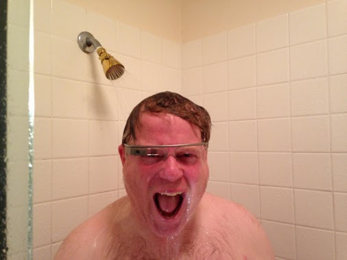 Is google glass waterproof?