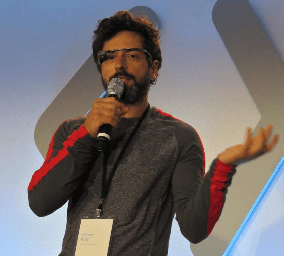 Sergey Brin serious about Google Glass