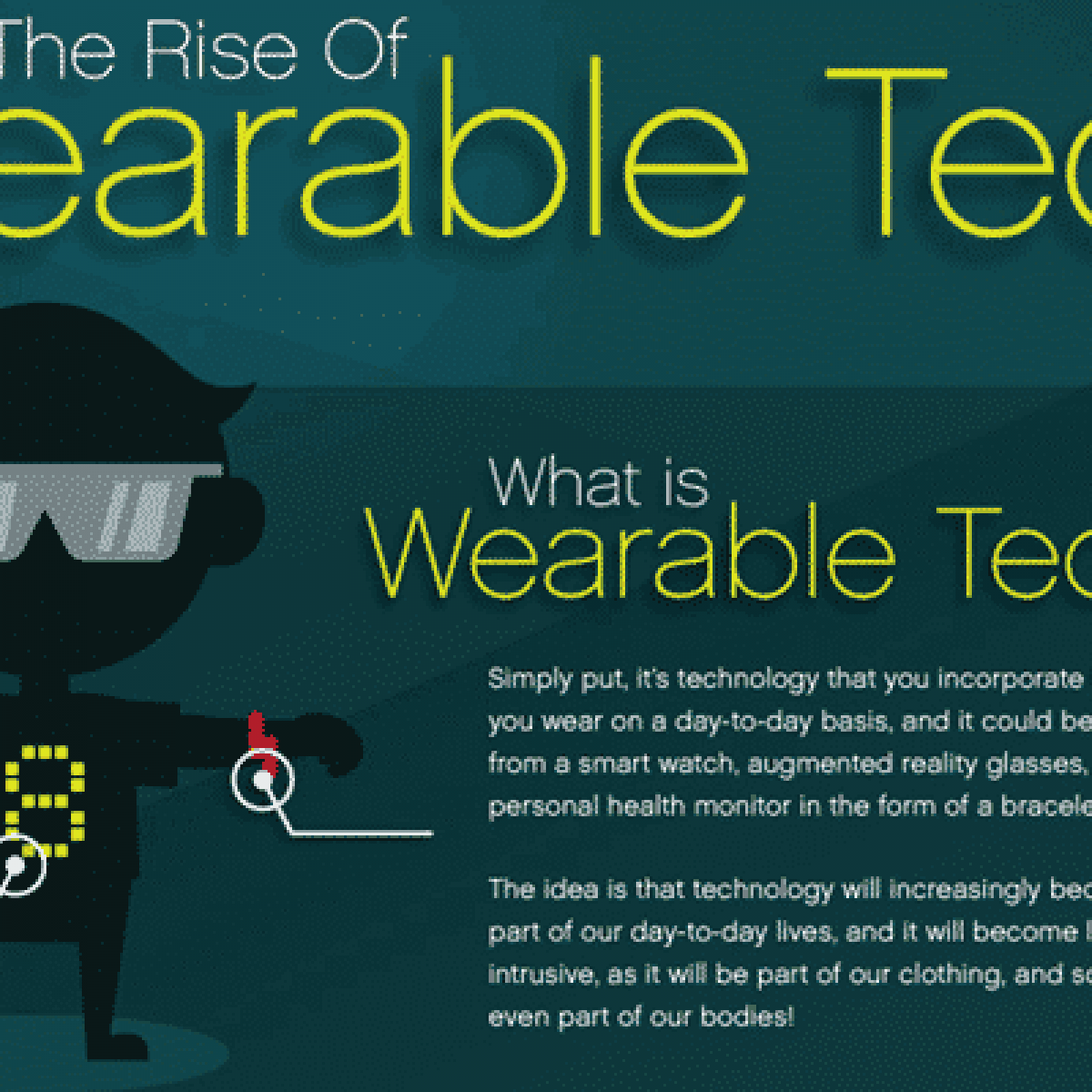 5 Things About Wearable Technology In Healthcare