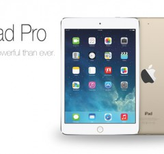 ipad pro rumors and thoughts