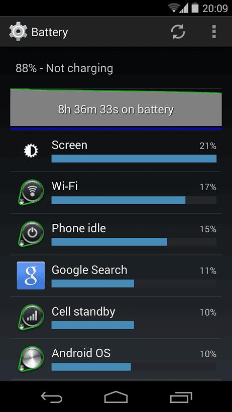 good battery life N5