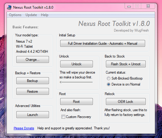 Root Almost Any Android Device With One-Click Toolkits