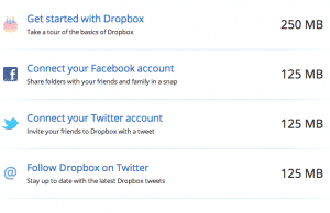 dropbox quick increase