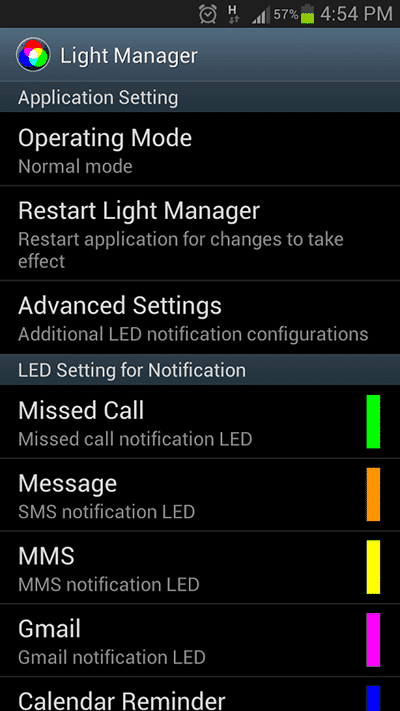 lightmanager