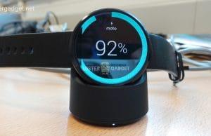 Moto 360 Wireless Charging