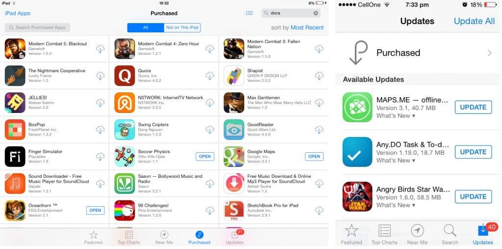 App Bundle without iOS 8
