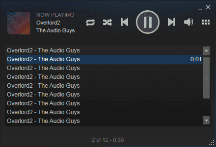 steam music playlist example 4