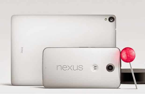 Google announces Nexus 6 phablet & Nexus 9 tablet