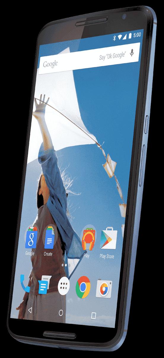 image of the new google nexus 6