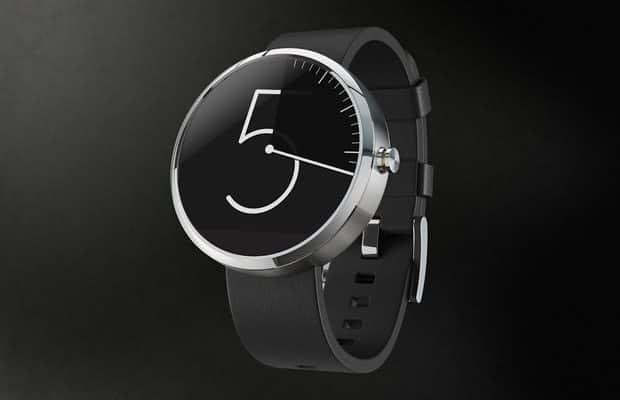 Customize Moto 360 Watch Face