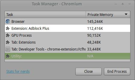Before: AdBlock Plus