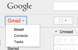 getting to the contacts list in gmail to recover lost ones