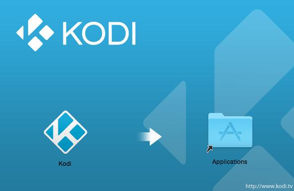 Install Kodi on a Mac