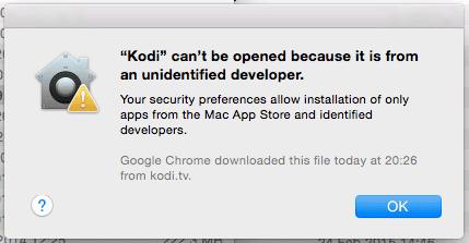 Kodi can't be opened