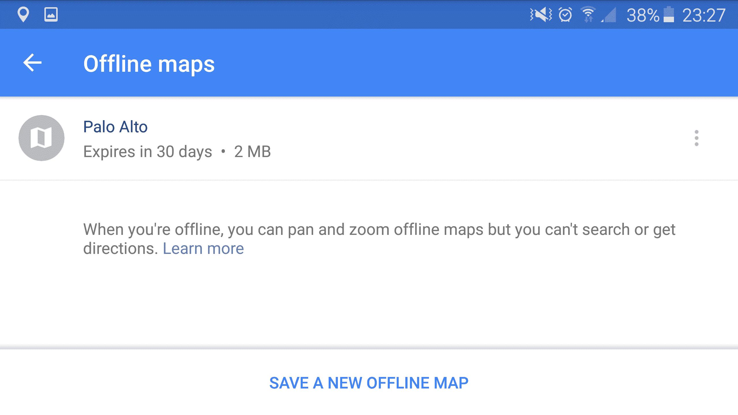 how to delete offline google maps on iphone