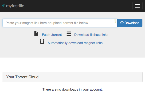 download torrents securely with myfastfile