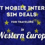 Traveling in Europe? Here's where you can get cheap mobile data SIM cards!