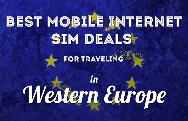 the best mobile data sim cards to buy while travelling europe - Prepaid Data Only Sim Card