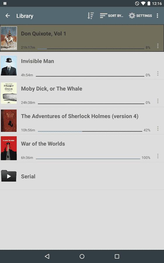 listen audiobook player book library
