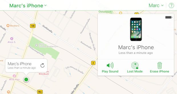 Use Find My iPhone y otras formas de rastrear un iPhone, AirPods o Mac perdido 4