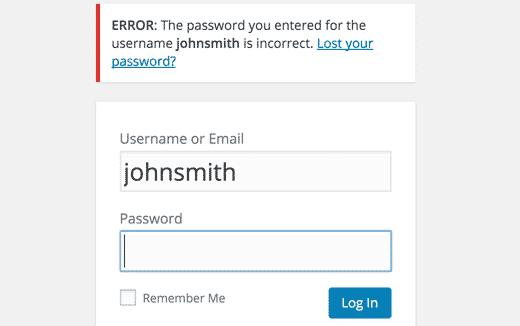 incorrectpassword