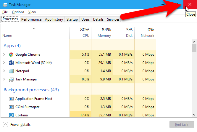 how to end and restart explorer.exe in windows 10
