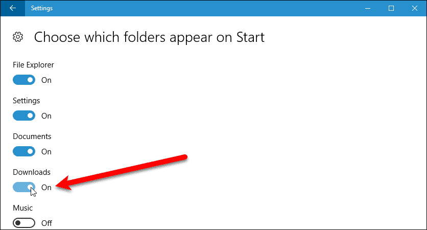 07 enable folders for left panel