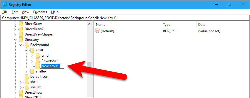 Rename the new key to Restart Explorer.