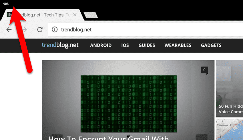 All Incognito tabs closed in Chrome on an Android tablet.