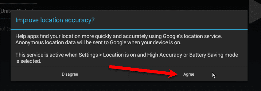 Improve Location Accuracy