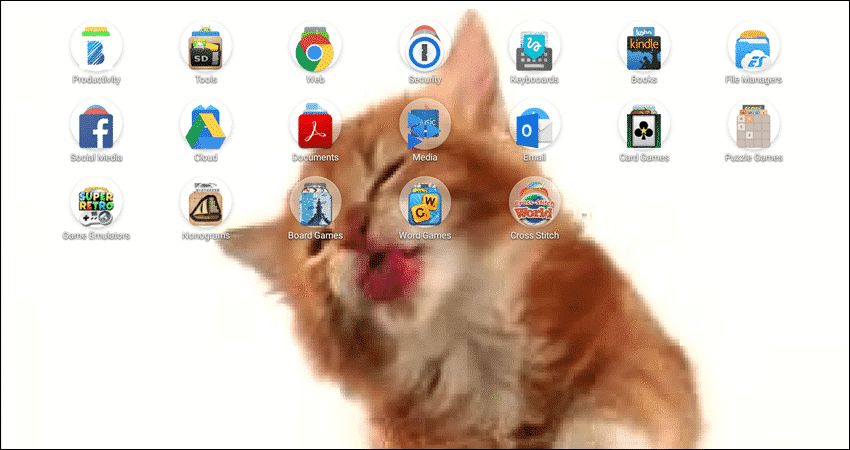 Cat Licks Live Wallpaper Free