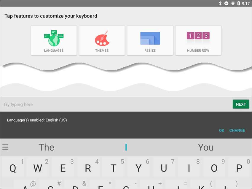 Customize the SwiftKey Keyboard