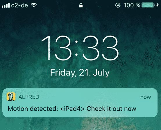 alfred alert