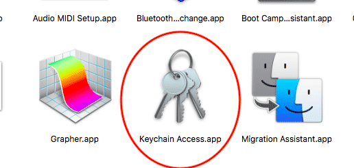 keychain utilities