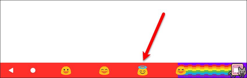 Emojis on the Navigation bar