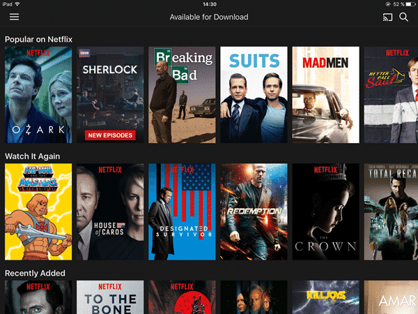 how to download netflix episodes to watch offline