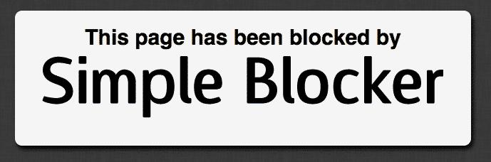 simpleblocker