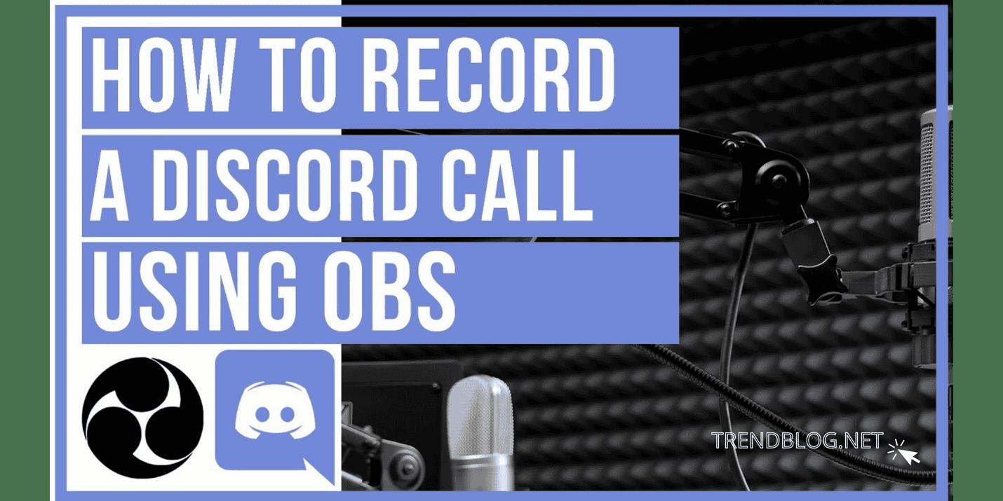record discord audio