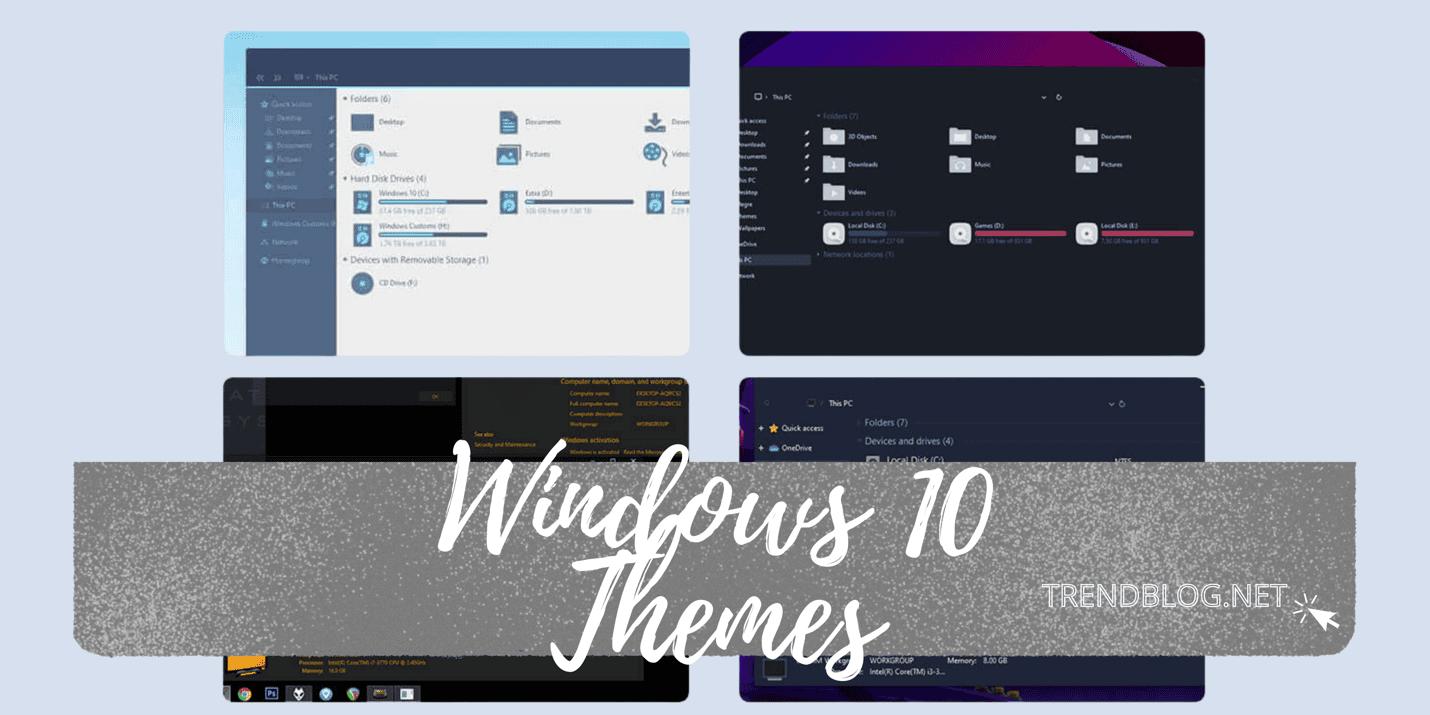 Windows 10 Themes Download – 6 Best Free Desktop Themes